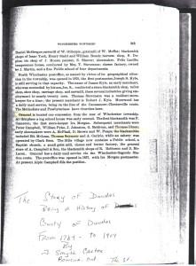 Thomas Seymour Blacksmith - The Story of Dundas